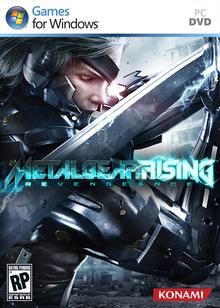Box art for the game Metal Gear Rising: Revengeance