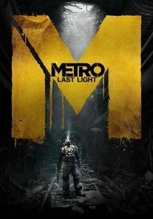 Box art for the game Metro: Last Light