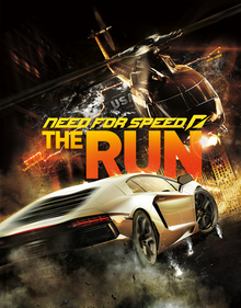 Capa do jogo Need for Speed: The Run