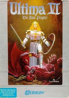 Box art for the game Ultima VI: The False Prophet