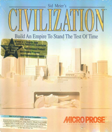 Box art for the game Sid Meier's Civilization