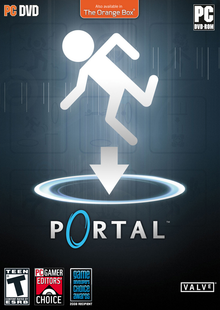 Box art for the game Portal