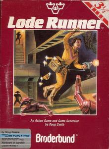 Box art for the game Lode Runner