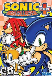 Box art for the game Sonic Mega Collection Plus