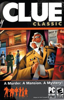 Box art for the game Clue Classic