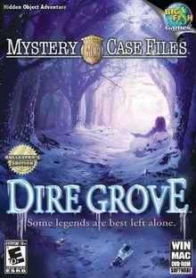 Box art for the game Mystery Case Files: Dire Grove