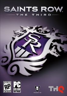 Box art for the game Saints Row: The Third