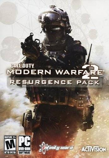 Box art for the game Call of Duty: Modern Warfare 2 - Resurgence Pack