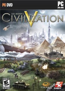 Box art for the game Sid Meier's Civilization V
