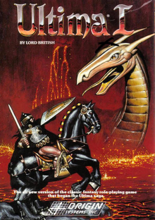 Box art for the game Ultima I