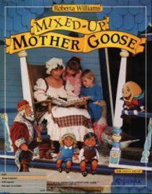 Box art for the game Mixed-Up Mother Goose