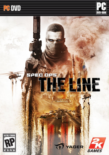 Box art for the game Spec Ops: The Line