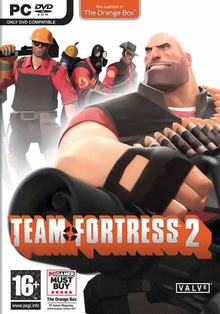 Box art for the game Team Fortress 2