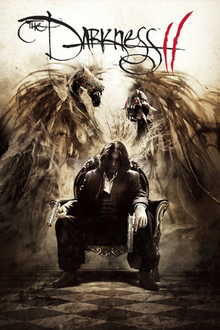 Box art for the game The Darkness II