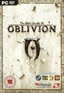 Box art for the game The Elder Scrolls IV: Oblivion