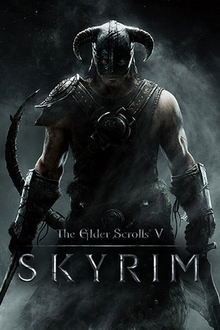 Capa do jogo The Elder Scrolls V: Skyrim
