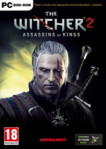 Box art for the game The Witcher 2: Assassins of Kings