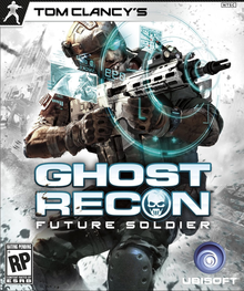 Box art for the game Tom Clancy's Ghost Recon: Future Soldier