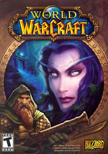 Box art for the game World of Warcraft