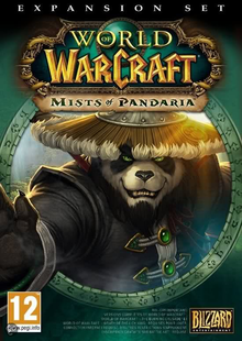 Box art for the game World of Warcraft: Mists of Pandaria