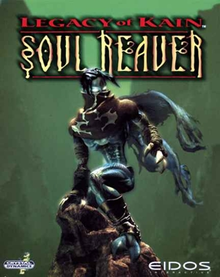 Box art for the game Legacy of Kain: Soul Reaver