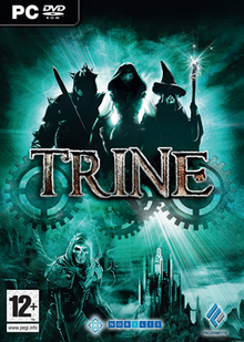 Box art for the game Trine
