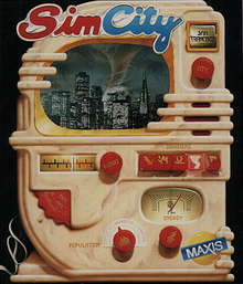 Box art for the game SimCity
