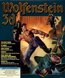 Box art for the game Wolfenstein 3D