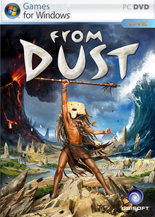 Box art for the game From Dust