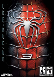 Box art for the game Spider-Man 3