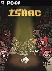 Box art for the game The Binding of Isaac