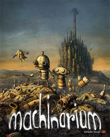 Box art for the game Machinarium
