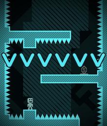 Box art for the game VVVVVV