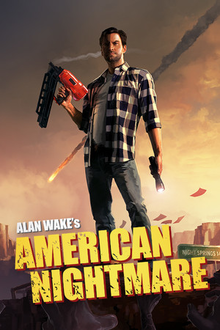 Box art for the game Alan Wake's American Nightmare