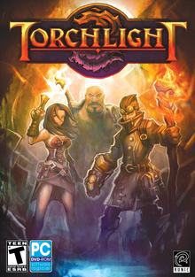 Box art for the game Torchlight