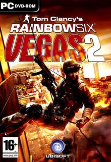 Box art for the game Tom Clancy's Rainbow Six: Vegas 2