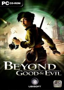 Capa do jogo Beyond Good & Evil