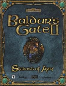 Box art for the game Baldur's Gate II: Shadows of Amn