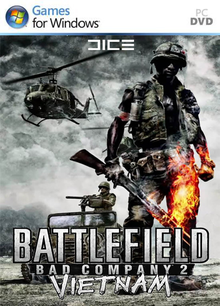 Box art for the game Battlefield: Bad Company 2 Vietnam