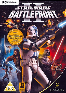 Box art for the game Star Wars: Battlefront II