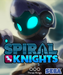 Box art for the game Spiral Knights