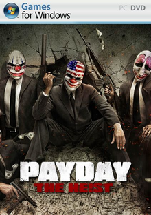 Box art for the game PayDay: The Heist