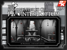 Box art for the game The Misadventures Of P.B.Winterbottom