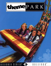 Box art for the game Theme Park
