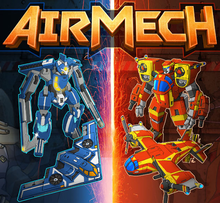 Box art for the game AirMech
