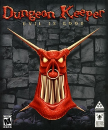 Box art for the game Dungeon Keeper