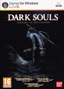 Box art for the game Dark Souls: Prepare to Die Edition