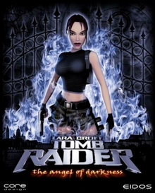 Box art for the game  Tomb Raider: The Angel of Darkness