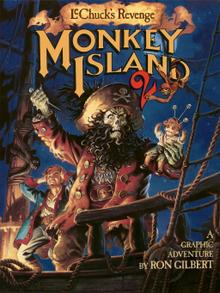 Box art for the game Monkey Island 2: LeChuck's Revenge