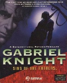 Box art for the game Gabriel Knight: Sins of the Fathers